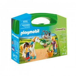 PLAYMOBIL Country - Horse Grooming Carry Case