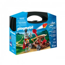 PLAYMOBIL - Knights Knight's Catapult Carry Case