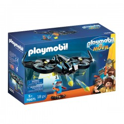 PLAYMOBIL The Movie - Robotitron with Drone