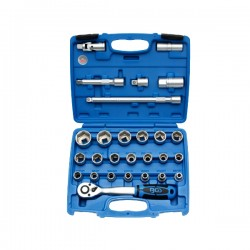 "BGS - Set nasadnih ključeva - 8-32mm; 1/2"" 27-dj. Pro+ 2224"