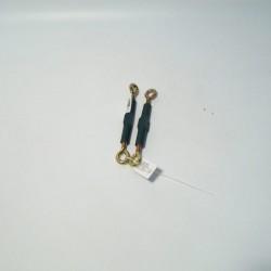 Zatezač zeleni PVC 13cm