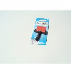 Karabiner PVC 40mm