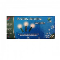 Božićne žaruljice 180kom, 12,5m