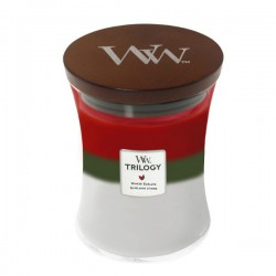WoodWick Trilogy - Winter Garland - Mirisna svijeća - Medium
