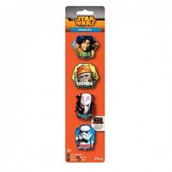 Gumica brisalo Star Wars 4 kom