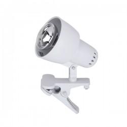 RABALUX ClipR - Bijela svjetiljka sa štipaljkom - 40W