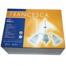 FRANCESCA TROSTRANI LUSTER 3x40W E14 VISINA 32cm ŠIRINA 54cm