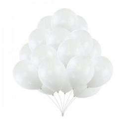 Baloni - Bijeli - Metalik