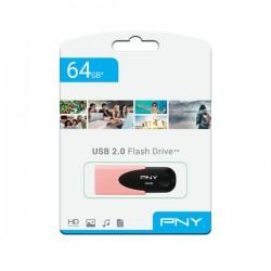 PNY - USB 2.0 - Flash Drive - 64 GB