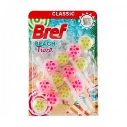 BREF - Power Aktiv - Beach Time - Osvježivač toaleta - 3 x 50g