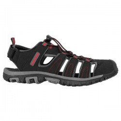 HI-TEC - Tiore - Sandale - Black / Dark Grey / Red - vel. 42