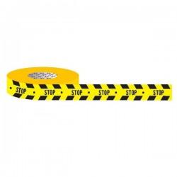 """Traka za označavanje poda """"STOP"""" - 50 mm x 30 m"""