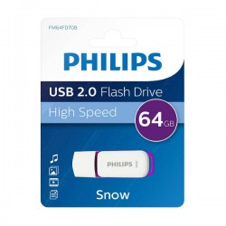 PHILIPS Snow - USB 2.0 - Flash Drive - 64 GB