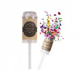Confetti Popper - Party konfeti na staklu