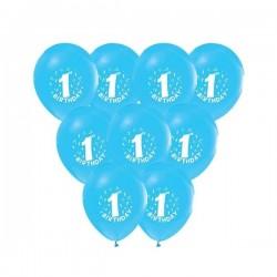 Baloni - 1. rođendan / Br. 1 - Plavi