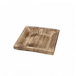 Drveni pladanj - Kvadratni - 24 x 24 x 5 cm