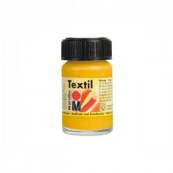 Marabu Textil - Textil boja za oslikavanje tkanine - 021 Medium Yellow - 15 ml