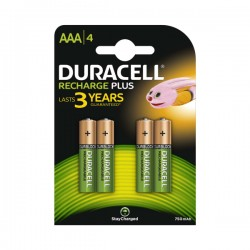 Duracell - Rechargeable - 750 mAh - Baterije