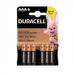 Duracell - Basic - LR03 / MN4200 - AAA 6 - Baterije - 4+2 GRATIS!