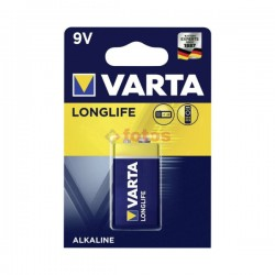 Varta - 9V - Alkaline - Longlife - Baterije - kn / kom