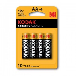 Kodak - Xtralife Alkaline - AA x4 - Baterije