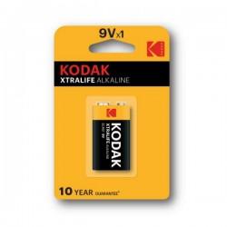 Kodak - Xtralife Alkaline - 9V x1 - Baterija