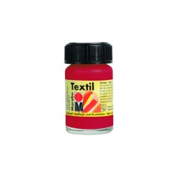 Marabu Textil - Textil boja za oslikavanje tkanine - 036 Coral Red - 15 ml