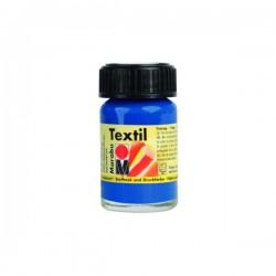 Marabu Textil - Textil boja za oslikavanje tkanine - 052 Medium Blue - 15 ml