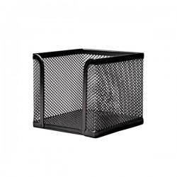 FORNAX - Blok kocka - 9,5 x 9,5 x 9,5 cm - Crna