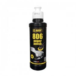 806 - BODY - Power Polish - Pasta za strojno poliranje automobilskih boja - Meko žuta - 200 ml