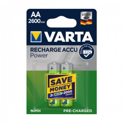 Varta - AA - 2600 mAh - Punjive baterije - kn / kom
