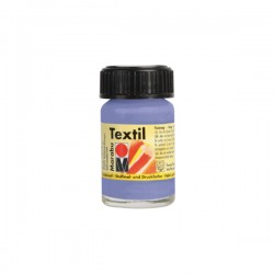 Marabu Textil - Textil boja za oslikavanje tkanine - 035 Lilac - 15 ml