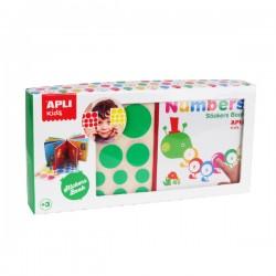APLI - Brojevi - Slikovnica s naljepnicama