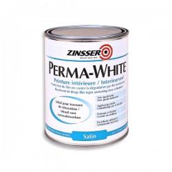 Zinsser - Perma-White - Satin - Unutarnja boja za zidove otporna na plijesan i gljivice - 1 L