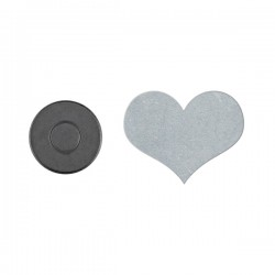 D-C-FIX - Magnetni držači za stolnjak - Srce