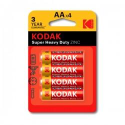 Kodak - Super Heavy Duty ZINC - AA x4 - Baterije