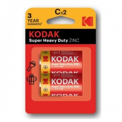 Kodak - Super Heavy Duty ZINC - C x2 - Baterije