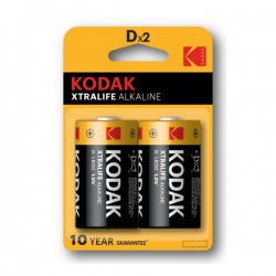 Kodak - Xtralife Alkaline - D x2 - Baterije