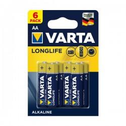 Varta - AA - Alkaline - Longlife - Baterije - kn / kom - 4+2 GRATIS!