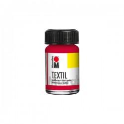 Marabu Textil - Textil boja za oslikavanje tkanine - 032 Carmine Red - 15 ml