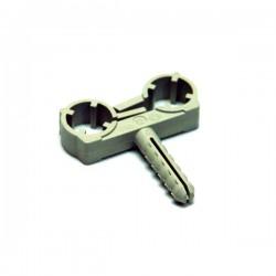 Dvostruka obujmica PVC 12mm