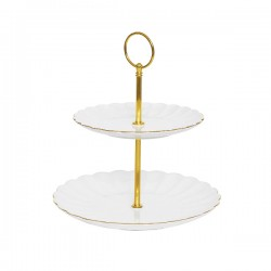 Dvoslojni stalak za tortu - 16/21 cm