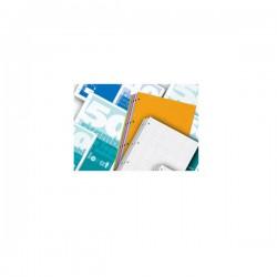 Blok za mapu uložnu 4 rupe A4, 40 listova, plavi