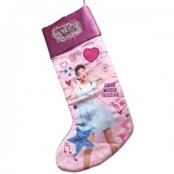 Violetta platnena čarapa za igračke 47cm