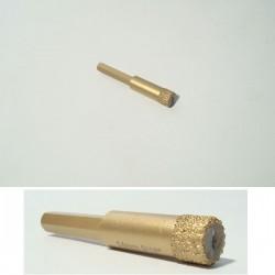 Svrdlo Ø10mm dijamantno za suho bušenje mramora, keramike, granita...