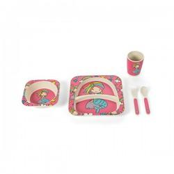 5900459 - BAMBOO - Dječji set za jelo