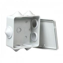Razvodna kutija nadžbukna bijela 90x90x45 mm