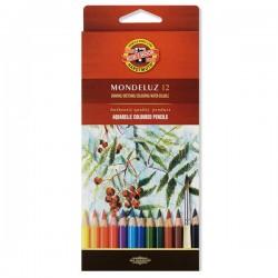 Koh-i-noor Aquarel u olovci, set 12 komada