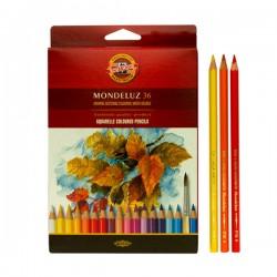 Kohinoor Aquarel u olovci, set 36 komada