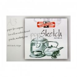 Blok za slikanje i crtanje Koh-I-Noor A3, 20 araka, 110gsm,